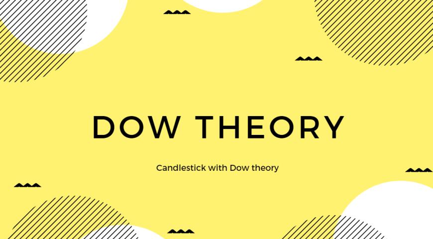 ダウ理論とローソク足